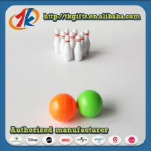 Neue benutzerdefinierte interessante Mini Bowling Spiel Spielzeug für Kinder