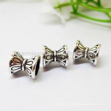 925 Sterling Silber doppelte Torus diy Armband Blütenblatt Septa Tori Zubehör SEF016