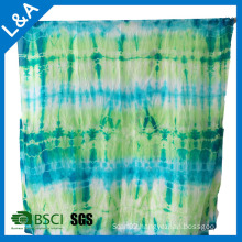 Silk Paj Shawl Scarf with Tie Dye