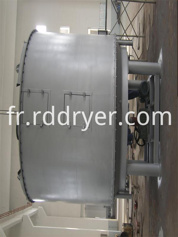 Plg Series Continual Granule Powder Low Moisture Plate Dryer