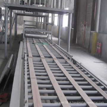 Linha de produção automática do equipamento da placa do magnésio do vidro.
