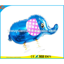 2016 Hot Sell Walking Pet Balloon Toy Foil Balloon Elephant para presente para crianças