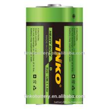 R20 углерода цинка тяжелые батареи с хорошим качеством