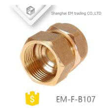 EM-F-B107 Conexión de tubería de unión de latón hembra