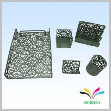 Канцелярские железные сетки металла 5 штук настольных канцелярских принадлежностей