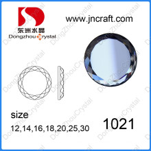 Decorative Flat Back Glass Stone for Garment Accessories