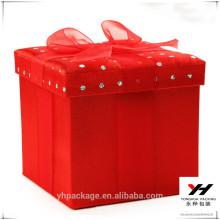 Kundenspezifisches rotes Geschenkpapier der hohen Qualität