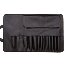 PU Leathe Cosmetic Makeup Bag Escova Organizador