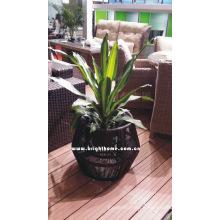 Wicker Outdoor Furniture Garden Flower Pot Bp-F56