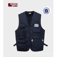 OEM 2017 manufactory price reporter multi pockets fishing vest