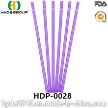 Paille à boire en plastique dur jetable en gros (HDP-0028)