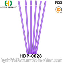 Wholesale Disposable Hard Plastic Drinking Straw (HDP-0028)