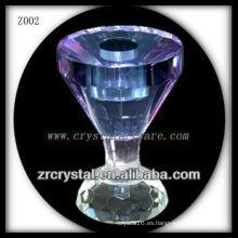 Candelero cristalino popular Z002