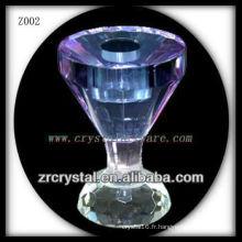 Bougeoir en cristal populaire Z002
