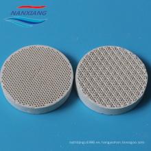 placa de calentamiento de cerámica quemadores de gas infrarrojos