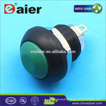 Daier plastic 12mm push button switch waterproof push button switch
