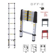 Dff-2 3-ступенчатая алюминиевая телескопическая портативная лестница En131