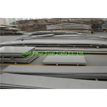 4X8 AISI 201 Folha de aço inoxidável / placa com acabamento Ba