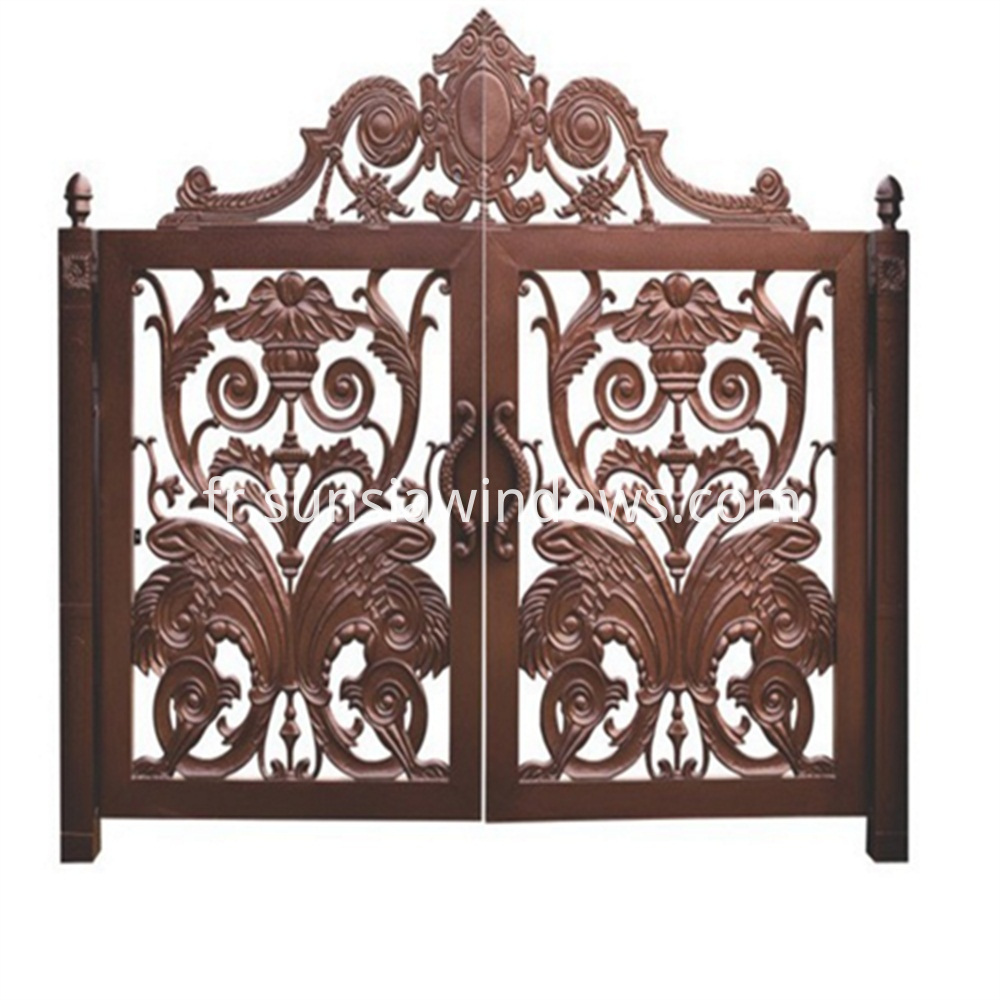 Aluminum Entry Gate