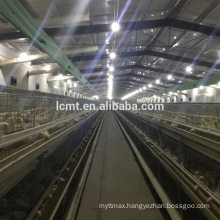 A type layer chicken rearing cage for poultry farm