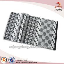 Jacquard Long scarf viscose