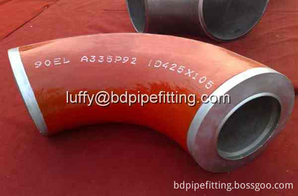 Alloy pipe fitting Elbow