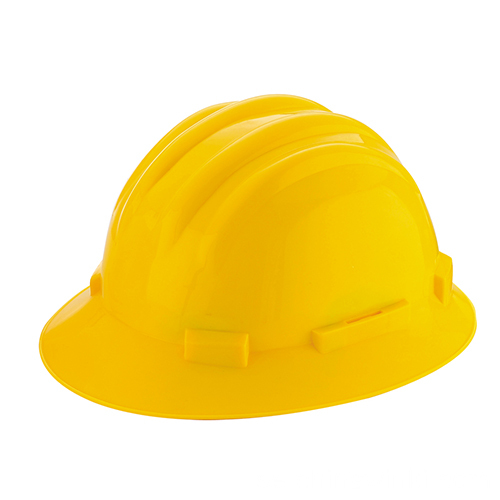 Full Brim Style 4 Point Ratchet Suspension Hard Hat