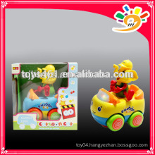 Newest Plastic B/O Cartoon Car Toys , Cartoon Elephant Car For Child
