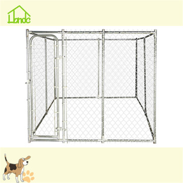 Most popular galvanized chain link dog kennel crate