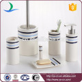 Everyday Home 6-Piece Ceramic Bathroom Toiletry Set