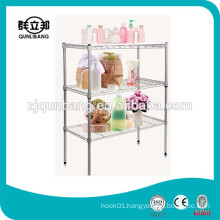 3 Layers Bathroom Shower Rack Wire Shelf Rack