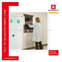 Acier inoxydable Medical Dumbwaiter Elevator