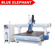 2137 Atc Wood CNC Router with Italy Hsd 9kw Air Cooling Spindle for Door and Desk