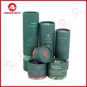 Custom Recylcable Cosmetic Packaging Paper Tube