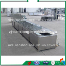Sanshon LPT Légumes et fruits type chaîne type Blancher Machine