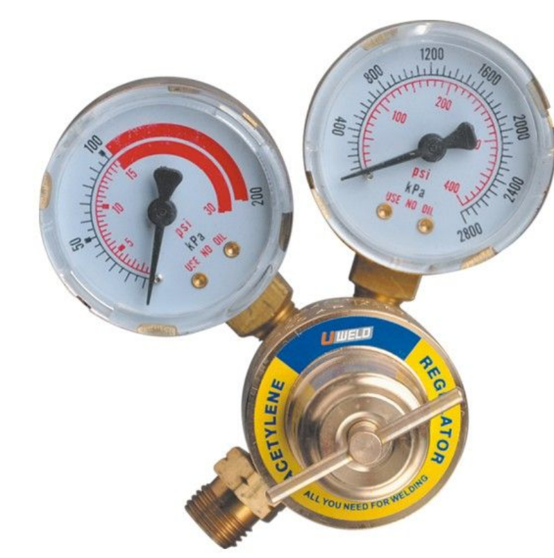 Gas Welding Pressure Gauge Regulator