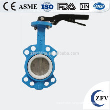 triple offset rubber seal butterfly valve