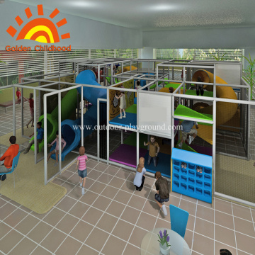 Aventura Indoor Kids Playground Equipment À Venda
