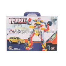 Gelb & Rot & Silber Bildungsbausteine Roboter