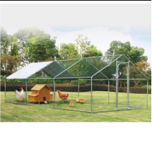 6mX3m walk in large hutch poultry dog pet metal house chicken run coop enclosure