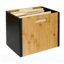 Bamboo Document Organizer File Organizer