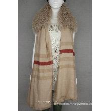 Fashion Real Cachemire écharpe chaude