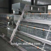 La caja tipo jaula de pollo de tipo A aumenta la cantidad de cultivo