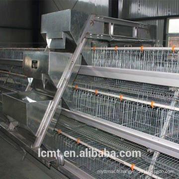 La cage de type cascade type A augmente la quantité d'élevage
