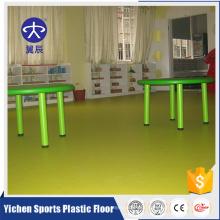 Antishock kindergarten classroom flooring mats materials
