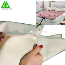 Guata ignífuga de fibra de poliéster ignífuga CFR para llenar el colchón