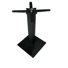 Pyramid Steel Base Table Pedestal