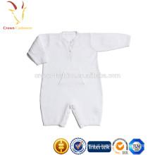 Camisolas de caxemira macias feitas malha do bebê do Romper do bebê de lãs macias
