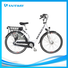 Full chain cover city electric bike