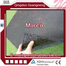 Rubber Floor Tile Rubber Factory Direct Outdoor Rubber Tile Recycle Rubber Tile Gym Rubber Tile